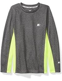 Boys' Long Sleeve Colorblocked Tech T-Shirt, Prime Exclusive