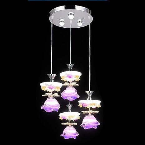 newest collection 8ecb3 71faf JIAMIN Modern Minimalist high Light Glass K9 Crystal Flower ...
