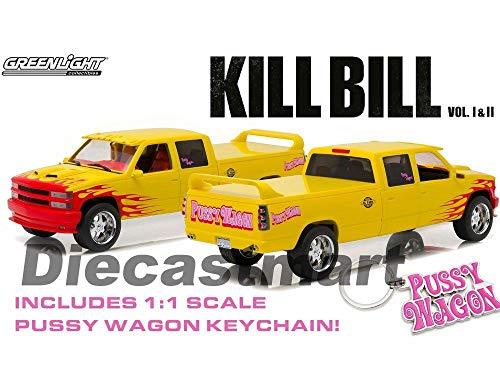 - MWDx102 1:18 1997 Chevrolet C-2500 Silverado Pussy Wagon Kill Bill 19015