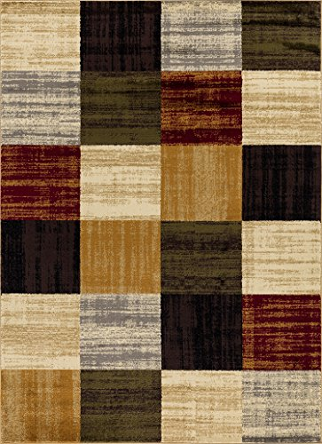 Mod-Arte | Crown Collection | Area Rug | Contemporary & Traditional Style | Multi | 5' 2