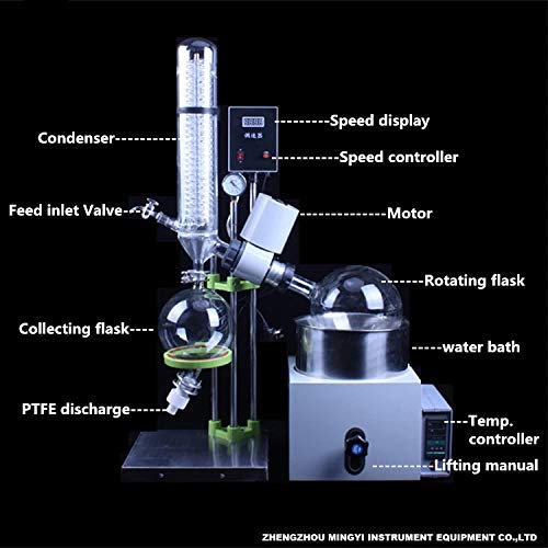 EAST Brand WTRE-201D Multi-Function Rotary Evaporator Total System Complete Set 2Lfor Lab Use by EAST (Image #2)
