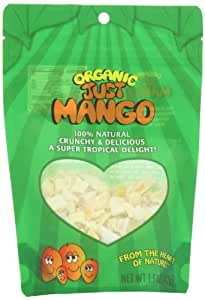 Just Tomatoes Organic Just Mango, 1.5 Ounce Pouch (Pack of 4)
