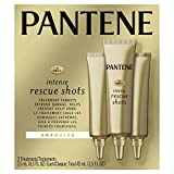 Pantene Pro-v Intense Rescue Shots Hair Ampoules for Intensive Repair Of Damaged Hair, 45ml