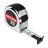 Deals on CRAFTSMAN Tape Measure 25-Foot CMHT37325S