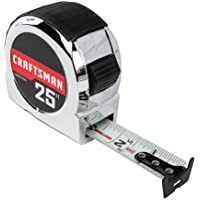 Deals on CRAFTSMAN Tape Measure 25-Foot CMHT37325S
