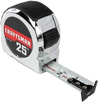 Craftsman 25-Foot Chrome Tape Measure