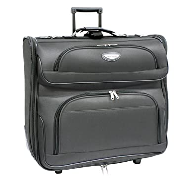 Travel Select Amsterdam Business Rolling Garment Bag, Gray, One Size
