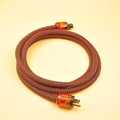 WAudio Hi-End Hifi Audio AC Power Cable Power Cord US Plug - 5FT (1.5M) ...