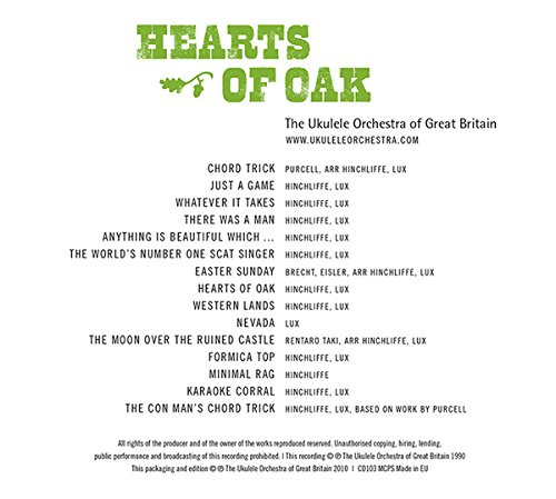 Hearts of Oak by The Ukulele Orchestra of Great Britain: Amazon.co ...