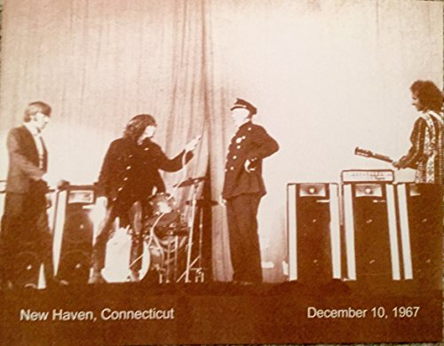 "Jim Morrison From ""The Doors"" Getting Arrested on Stage Sepia Poster"