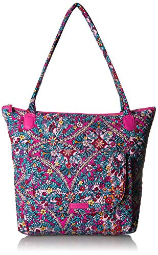 - Vera Bradley Carson North South Tote, Signature Cotton, Kaleidoscope