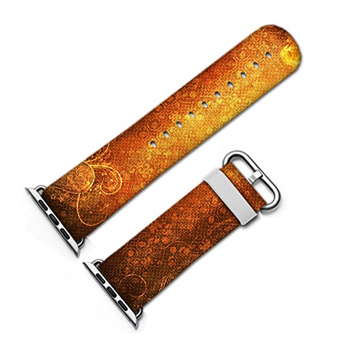 For Apple Watch, fashion Artistic pattern Leather Watch Band 38mm 42mm Strap for Apple Watch 3, 2, 1 Design Wrist Watch iwatch Bracelet-087, Scrapbooking, Texture, Paper, Scrapbook