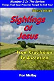 Sightings Of Jesus: From Crucifixion To Ascension (Things That Your Preacher Forgot To Tell You!) (Volume 3)