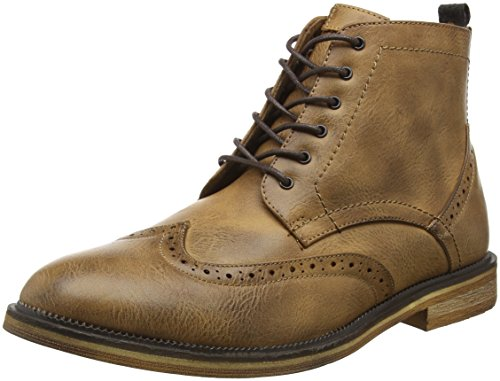 New Look Brogue, Botas Hombre Beige (tan/18)