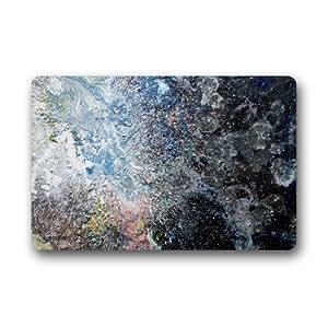 Beautiful Broken Glass,Unique Pattern Design Custom Non-Woven Fabric Top,Indoors/Outdoors Doormat 23.6 x 15.7
