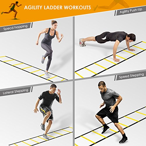 Intey Agility Ladder Exercise Speed Ladder Durable