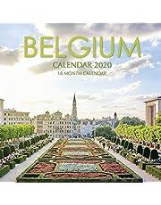 Belgium Calendar 2020: 16 Month Calendar