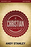 Christian Participant's Guide with DVD: It's Not What You Think by Andy Stanley (2013-01-26)