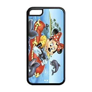 STYLE-UM@ Case For iphone 5c, TPU iphone 5c Cover, Custom iphone 5c Case, Mickey Mouse iphone 5c Cover, iphone 5c Snap On Case