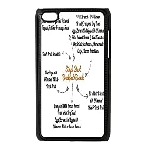 Start Simple High Qulity Customized Cell Phone Case for iPod Touch 4, Start Simple iPod Touch 4 Cover Case