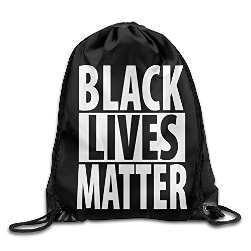 Price comparison product image AGOGO Black Lives Matter Drawstring Backpack Bag