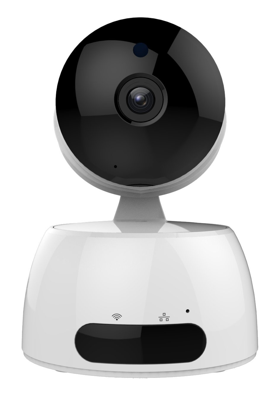 Fusion5 Advanced IP Camera - HD, Two-way Audio Speaker Support, Motion Detector, Video Recording, remote security webcam, dog cam, baby monitor camera