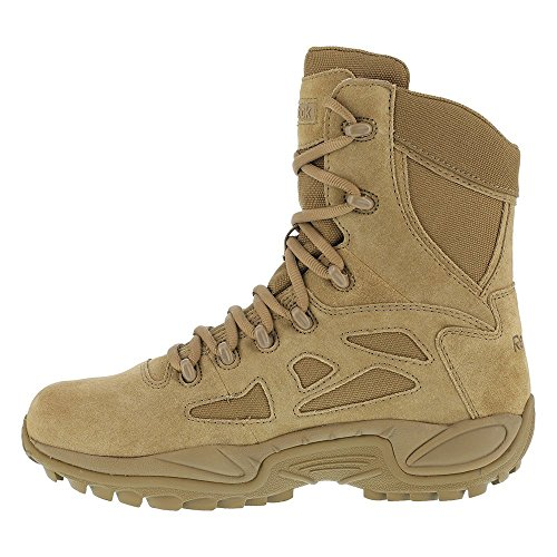 Toe M RB Mens Reebok Leather Coyote Nylon Tactical 15 Boots Reponse Raid Soft vC7OxH