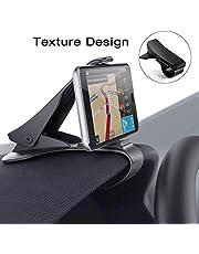 Handyhalterung Auto, Modohe Kfz Armaturenbrett Universal Rutschfest Handyhalterung für iPhone XR XS Max X8 7 6s plus Samsung S10 S9 S8 Note Huawei P20 und alle 3.5-6.5 Zoll Smartphones (Schwarz)