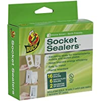 Duck Brand Socket Sealers Variety Pack, 16 Outlet Sealers...