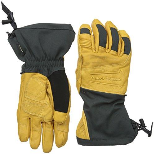 Black Diamond Virago Skiing Gloves, Natural, Small