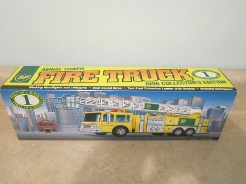 BP Aerial Tower Fire Truck 1996 Collector's -