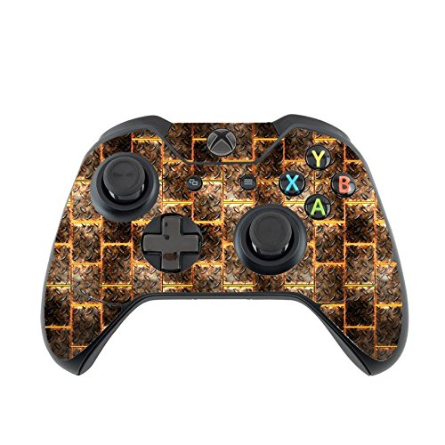 Lava Controller - Hot Steel Grooves Lava Xbox One Controller Vinyl Decal Sticker Skin by Moonlight Printing