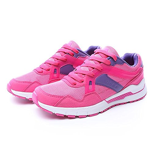 Dimensione da da Nero 35 Color casual shoes Red e Rose da Scarpe sportive Xiaojuan donna donna EU uomo OCHq7