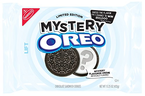 Oreo Limited Edition Mystery Chocolate Sandwich Cookies