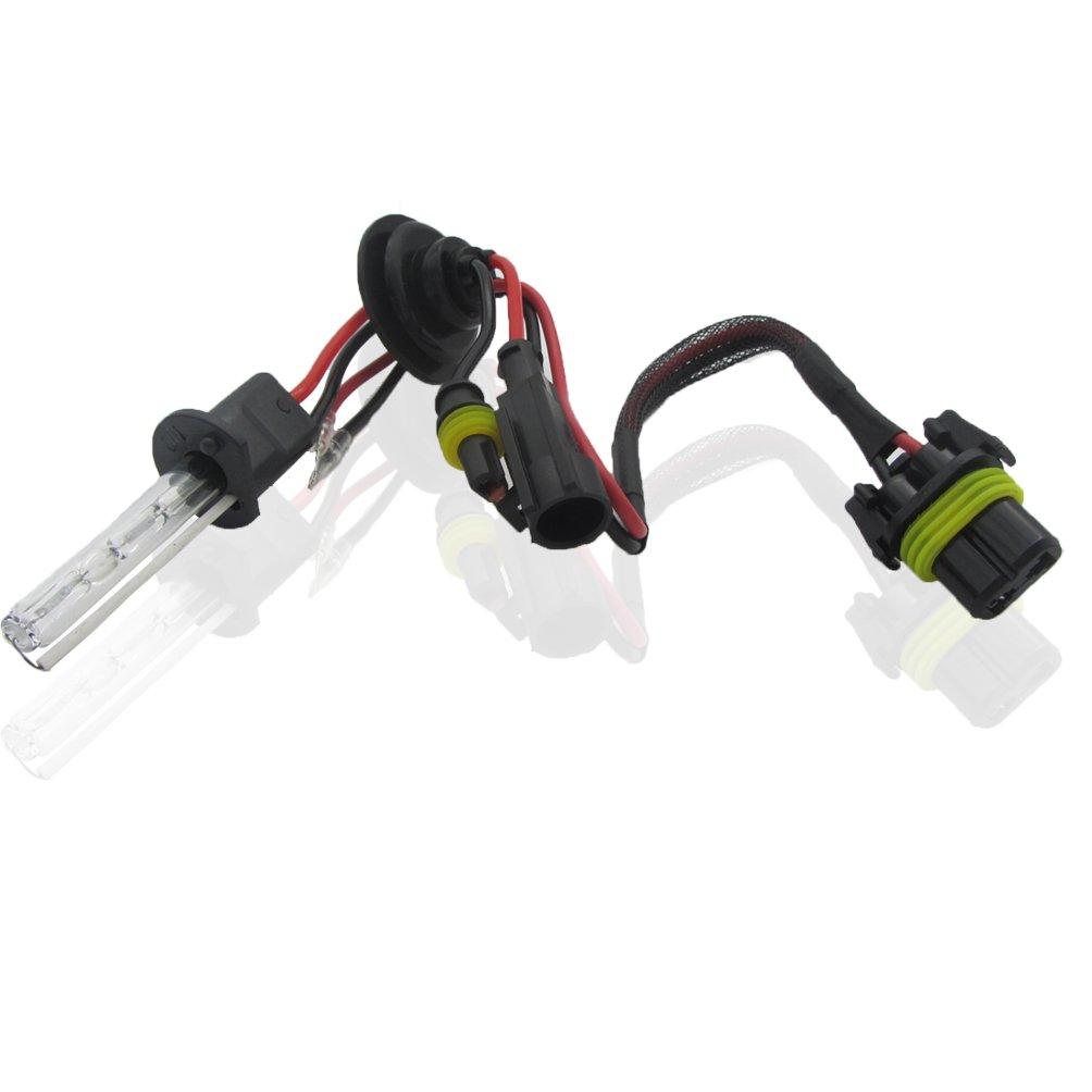 H11 H7 Style : H1-10000K LED light bar Kit di conversione Xenon 55 W HIDTutte le dimensioni e i colori delle lampadine con reattori digitali H1 9005//9006//880//881 H4 H3