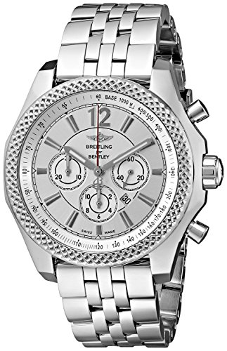 Breitling-Mens-A4139021-G754-Analog-Display-Swiss-Automatic-Silver-Watch
