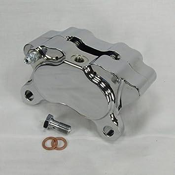 Amazon.com: DNA Specialty Billet Aluminum Motorcycle 4-Piston Brake ...