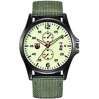 Presentar en caliente. Reloj de pulsera militar de nailon resistente al agua, con fecha de cuarzo, analógico, para hombre, de cuarzo, para regalo de vacaciones