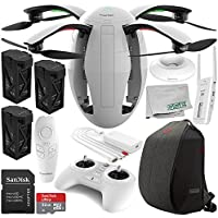 PowerVision PowerEgg Drone with 360 Panoramic 4K HD Camera and 3-axis Gimbal with Maestro + PowerVision Backpack Ultimate Bundle