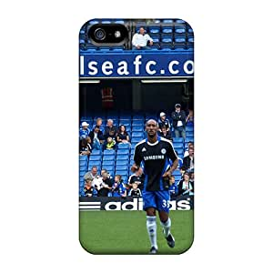 Iphone 5/5s Cover Case - Eco-friendly Packaging(chelsea Team On The Field)