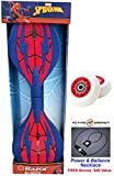 SPIDERMAN Limited Edition Razor Ripster - Mini Pirpstik Castor Board with an Extra Set of Wheels & Active Energy Power & Balance Necklace $49 Value