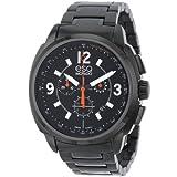 ESQ by Movado 7301418 47mm Stainless Steel Case Black Steel Bracelet Mineral Men's Watch