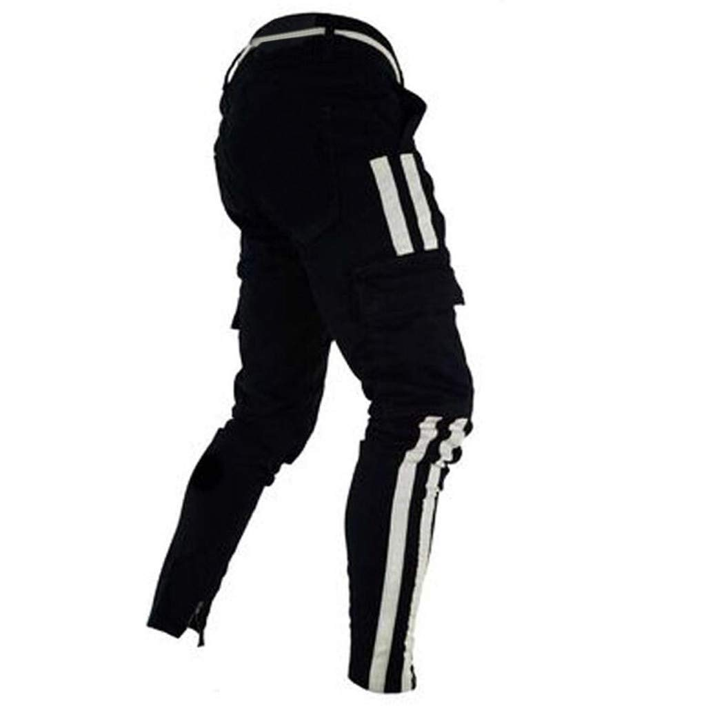 Pantalones Deportivos para Hombre,JiaMeng Pantalones Vaqueros j/óvenes Joggers Pantalones Termicos Hombre Pantalones de Trekking Pantalones de Deportivos con Bolsillos