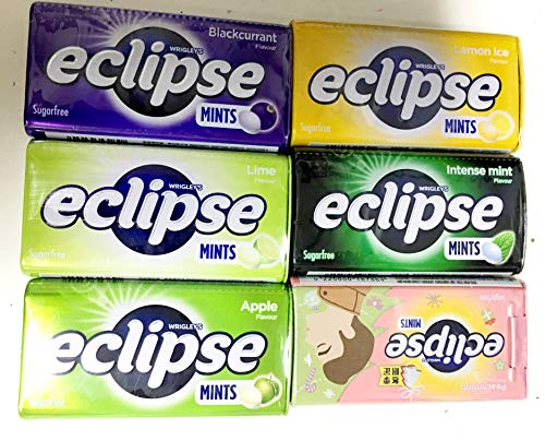 Eclipse Sugarfree Mints - 6 different -