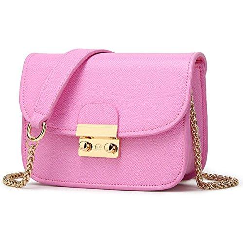 Wild Pink ZHI Sac Bandoulière à Sac à Mini Small Bandoulière Main Sac Sac Chaussures à WU Ladies HSwwva