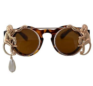 Amazon.com: qmot doble con tapa anteojos de sol overol de la ...