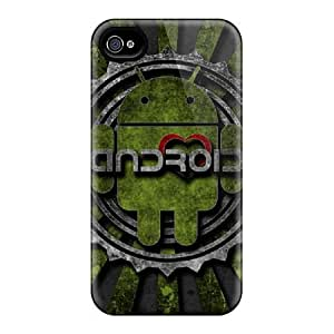 Premium [SCkNcyA4665ooeJk]android Case For Iphone 4/4s- Eco-friendly Packaging