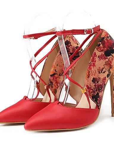 GGX/Damen Schuhe Frühjahr/Sommer/Herbst Heels/spitz Toe Heels Party & Abend/Kleid/Casual Stiletto-Absatz Schnalle beige-us5.5 / eu36 / uk3.5 / cn35