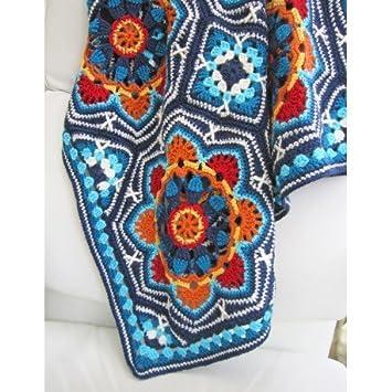 JANIE Crow Persische Fliesen Crochet Decke Muster: Amazon.de: Küche ...