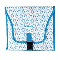 Carats car seat cooler is the best car seat cooler and baby seat cooling pad for your baby! Easy to Use Instructions: Place cooler folded and flat in the freezer overnight. Once frozen, take with you and place on EMPTY car seat before you lea...